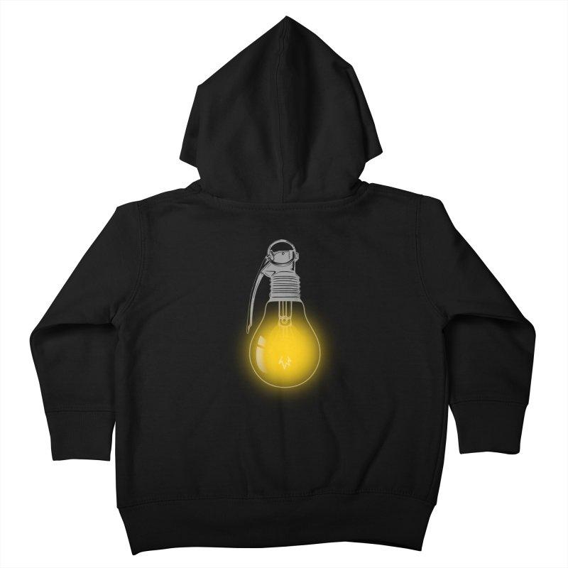 Explosive Idea Kids Toddler Zip-Up Hoody by mitchdosdos's Shop
