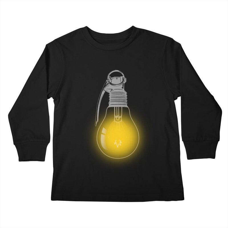Explosive Idea Kids Longsleeve T-Shirt by mitchdosdos's Shop