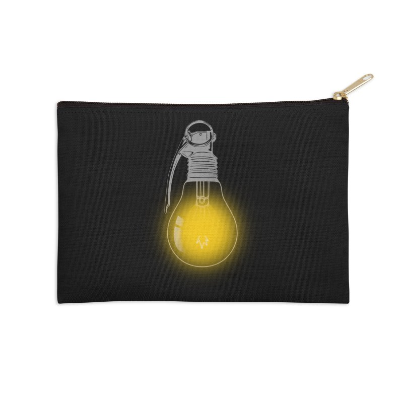 Explosive Idea Accessories Zip Pouch by mitchdosdos's Shop