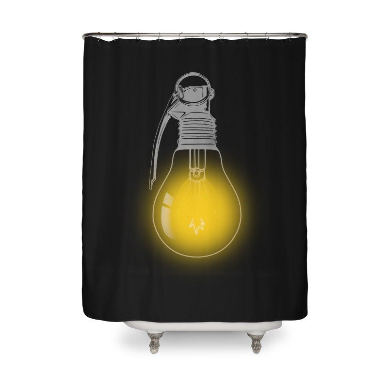 Explosive Idea Home Shower Curtain by mitchdosdos's Shop