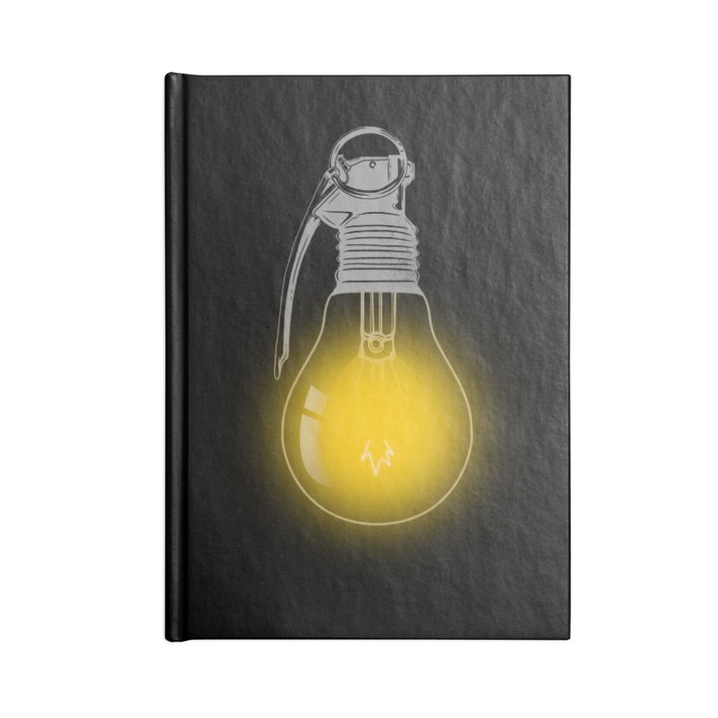 Explosive Idea Accessories Notebook by mitchdosdos's Shop