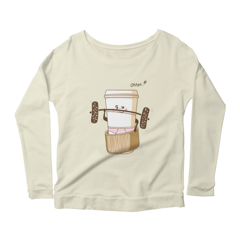 Working It Out Women's Longsleeve Scoopneck  by mitchdosdos's Shop