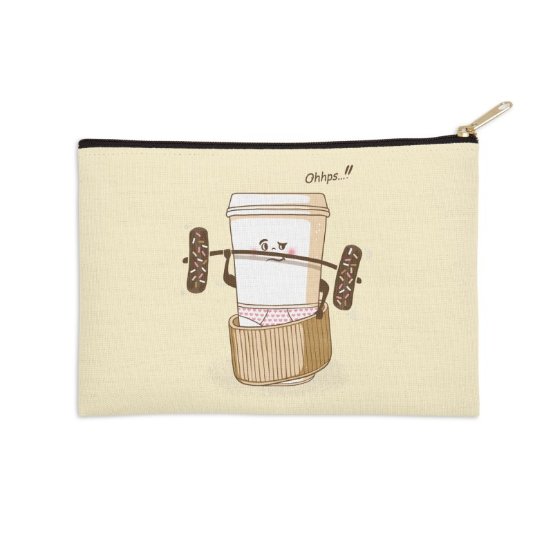 Working It Out Accessories Zip Pouch by mitchdosdos's Shop