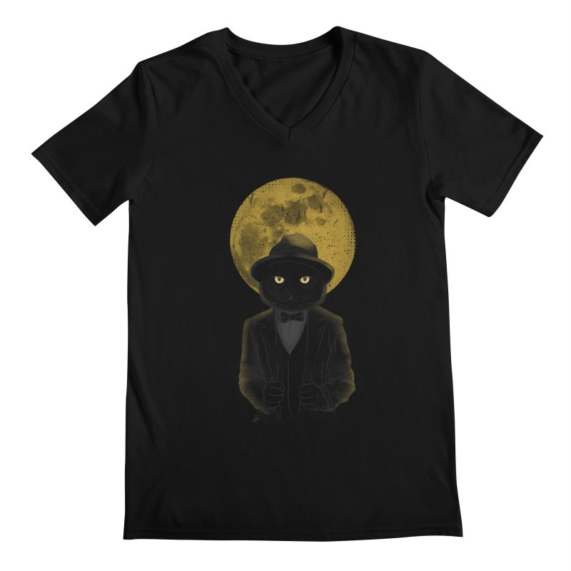 Mr. Felix the Cat Men's V-Neck by mitchdosdos's Shop