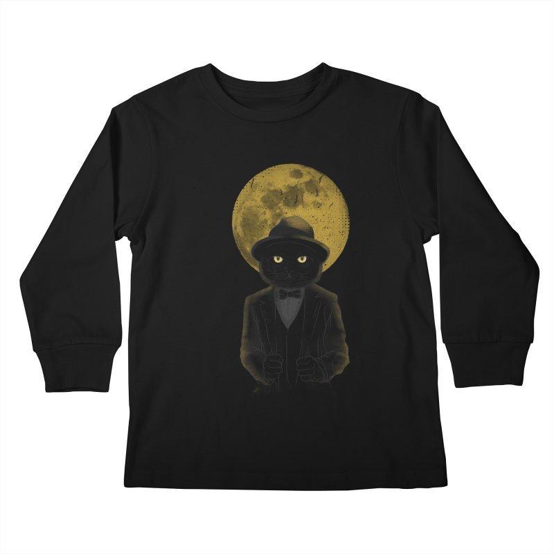Mr. Felix the Cat Kids Longsleeve T-Shirt by mitchdosdos's Shop