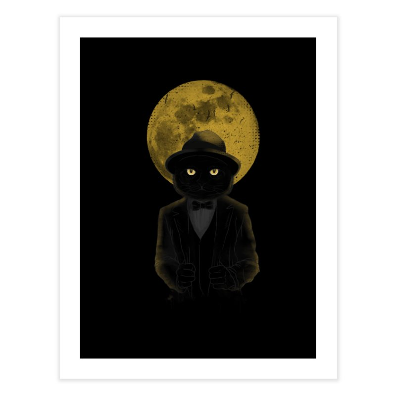 Mr. Felix the Cat Home Fine Art Print by mitchdosdos's Shop