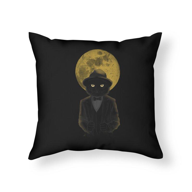 Mr. Felix the Cat Home Throw Pillow by mitchdosdos's Shop