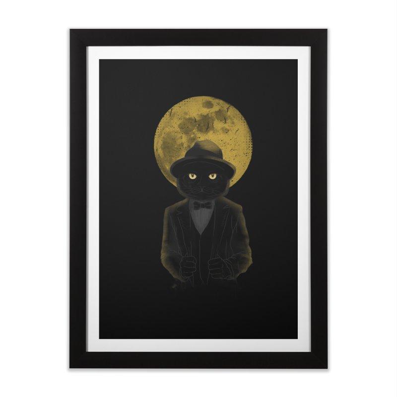 Mr. Felix the Cat Home Framed Fine Art Print by mitchdosdos's Shop
