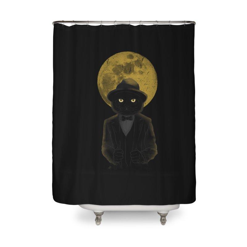 Mr. Felix the Cat Home Shower Curtain by mitchdosdos's Shop