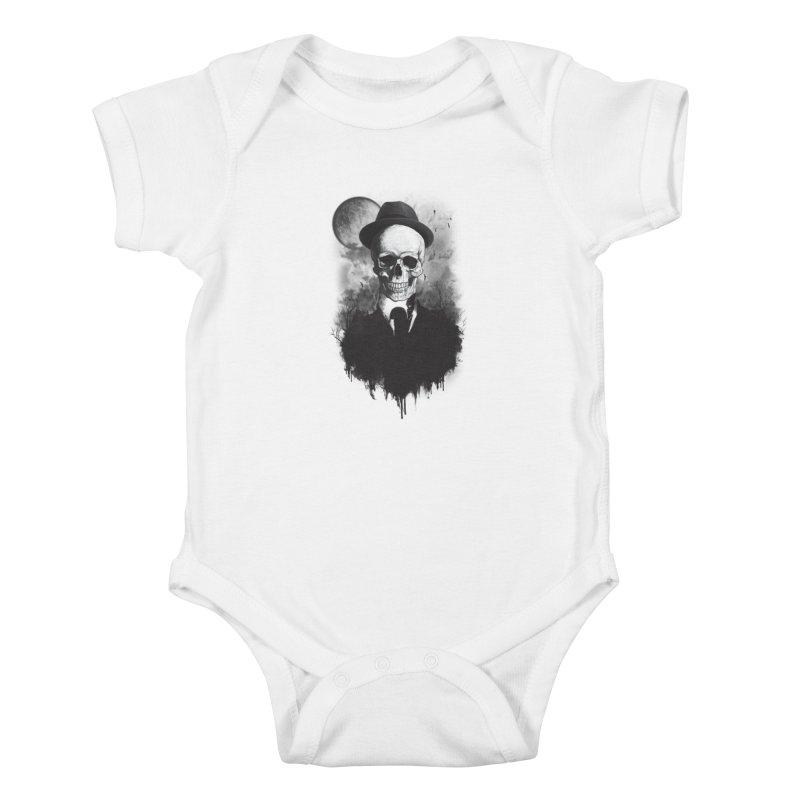 Mr. Valentino Kids Baby Bodysuit by mitchdosdos's Shop