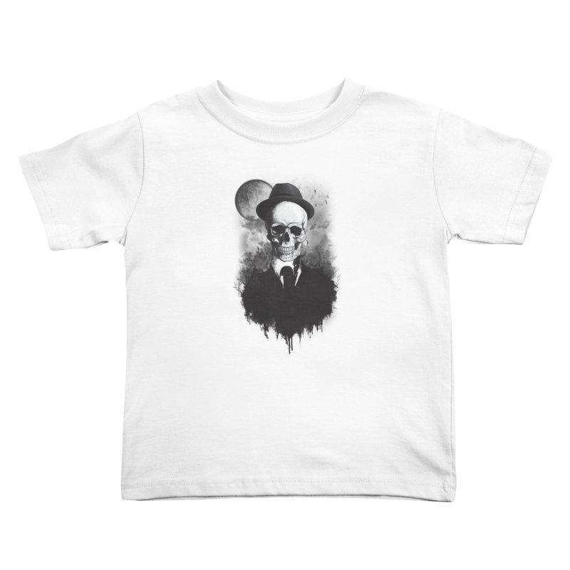 Mr. Valentino Kids Toddler T-Shirt by mitchdosdos's Shop