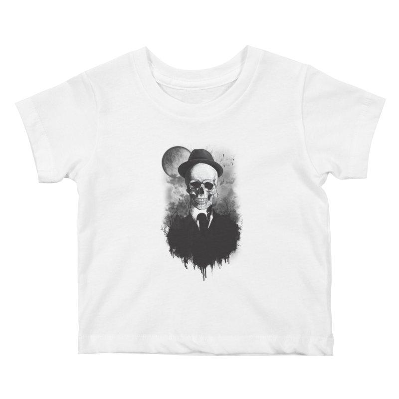 Mr. Valentino Kids Baby T-Shirt by mitchdosdos's Shop