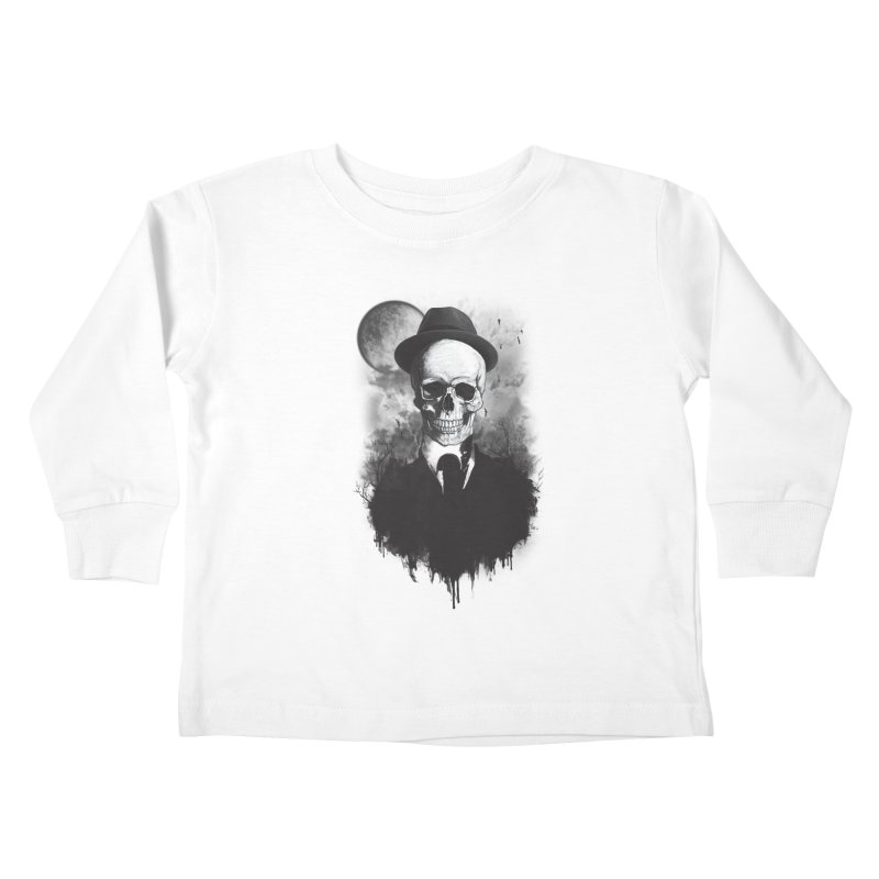 Mr. Valentino Kids Toddler Longsleeve T-Shirt by mitchdosdos's Shop