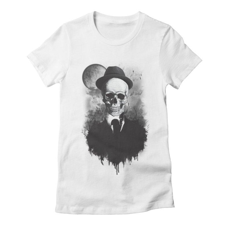 Mr. Valentino Women's Fitted T-Shirt by mitchdosdos's Shop