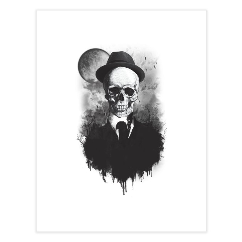Mr. Valentino Home Fine Art Print by mitchdosdos's Shop