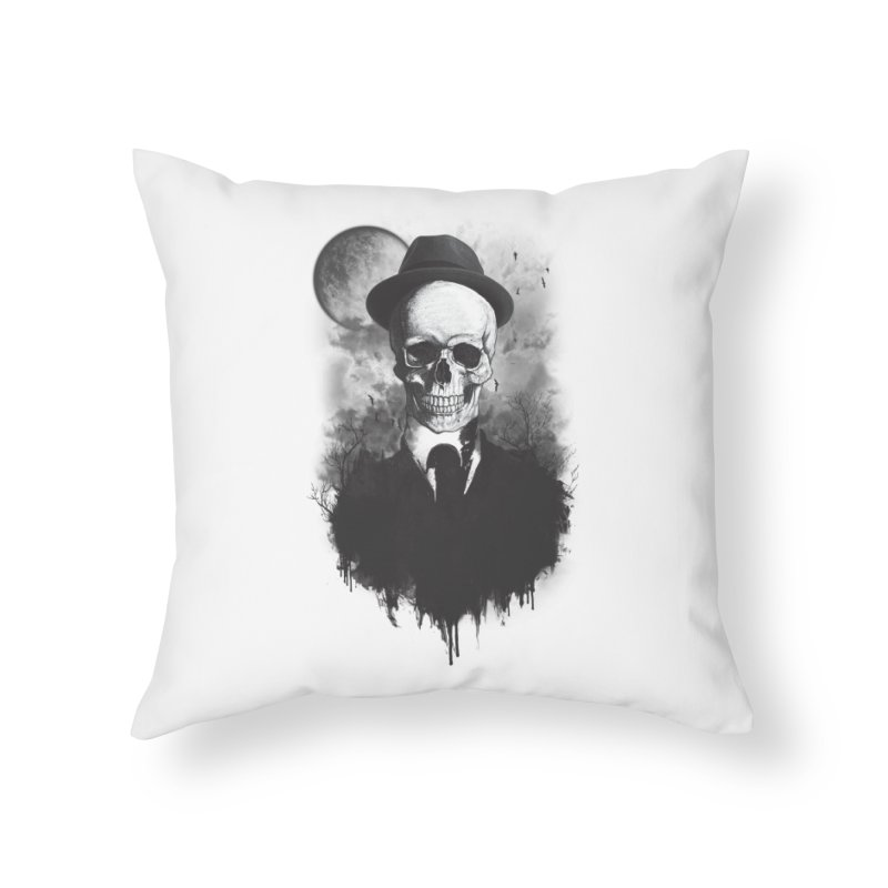 Mr. Valentino Home Throw Pillow by mitchdosdos's Shop