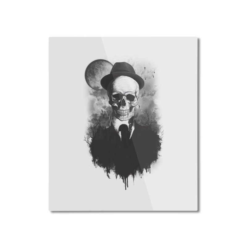 Mr. Valentino Home Mounted Aluminum Print by mitchdosdos's Shop