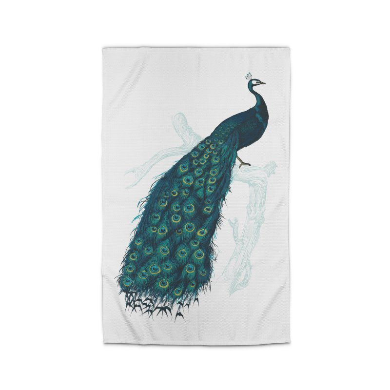 Shake Your Tail Feather Home Rug by Mitchell Black's Artist Shop
