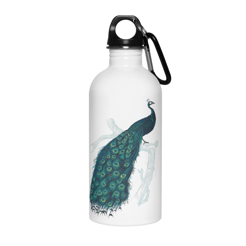 Shake Your Tail Feather Accessories Water Bottle by Mitchell Black's Artist Shop