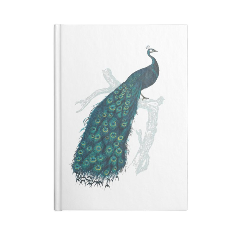 Shake Your Tail Feather Accessories Lined Journal Notebook by Mitchell Black's Artist Shop