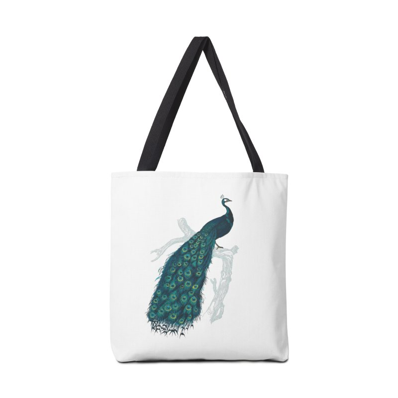 Shake Your Tail Feather Accessories Tote Bag Bag by Mitchell Black's Artist Shop