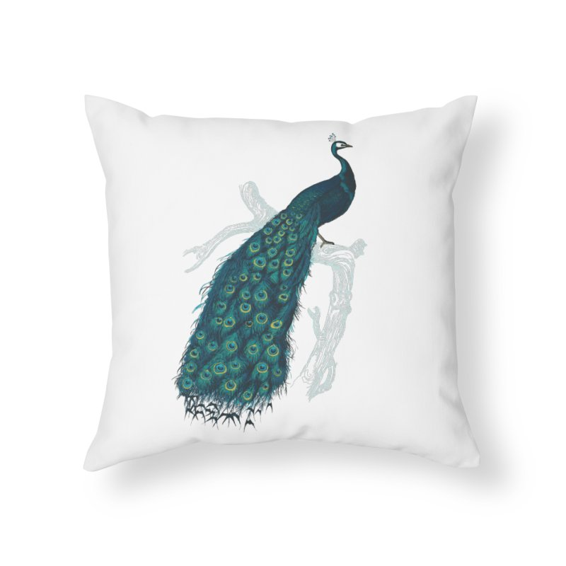 Shake Your Tail Feather Home Throw Pillow by Mitchell Black's Artist Shop