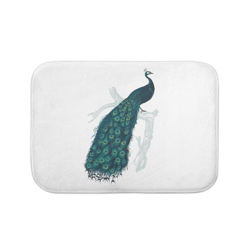 Shake Your Tail Feather Home Bath Mat by Mitchell Black's Artist Shop