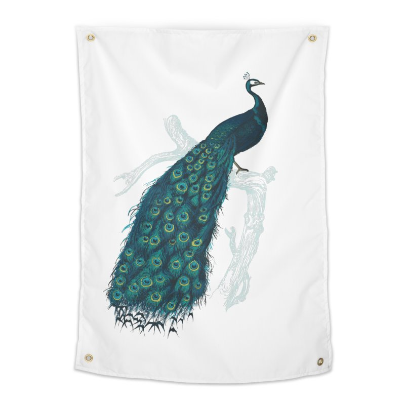 Shake Your Tail Feather Home Tapestry by Mitchell Black's Artist Shop