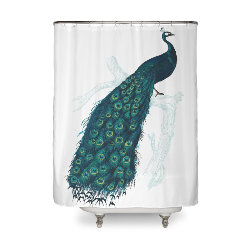 Shake Your Tail Feather Home Shower Curtain by Mitchell Black's Artist Shop
