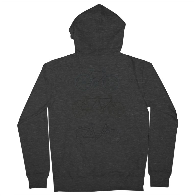 His Hers & Ours Women's French Terry Zip-Up Hoody by Mitchell Black's Artist Shop