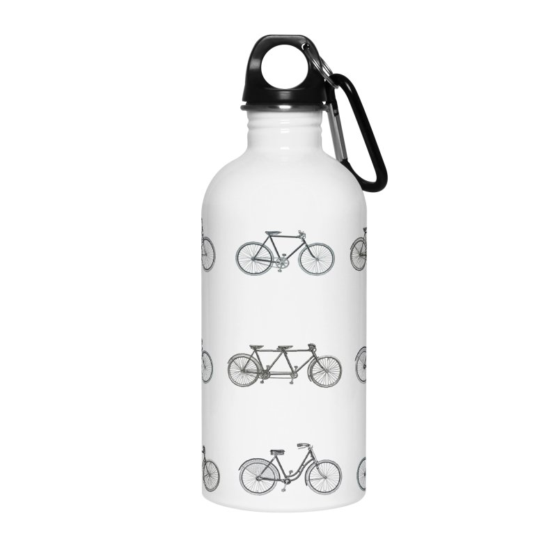 Critical Mass Accessories Water Bottle by Mitchell Black's Artist Shop