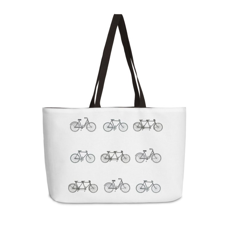 Critical Mass Accessories Weekender Bag Bag by Mitchell Black's Artist Shop