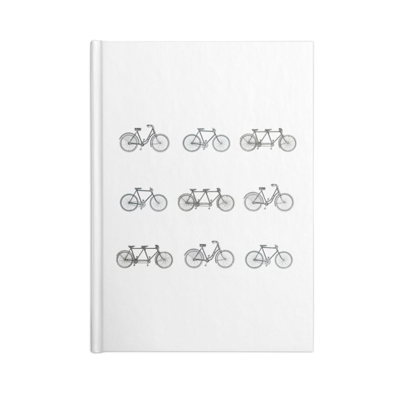 Critical Mass Accessories Blank Journal Notebook by Mitchell Black's Artist Shop