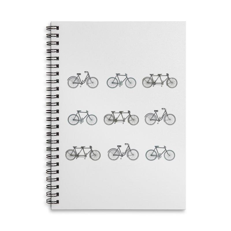 Critical Mass Accessories Lined Spiral Notebook by Mitchell Black's Artist Shop