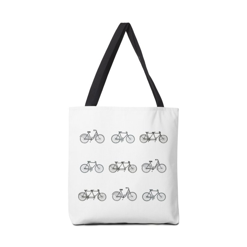 Critical Mass Accessories Tote Bag Bag by Mitchell Black's Artist Shop
