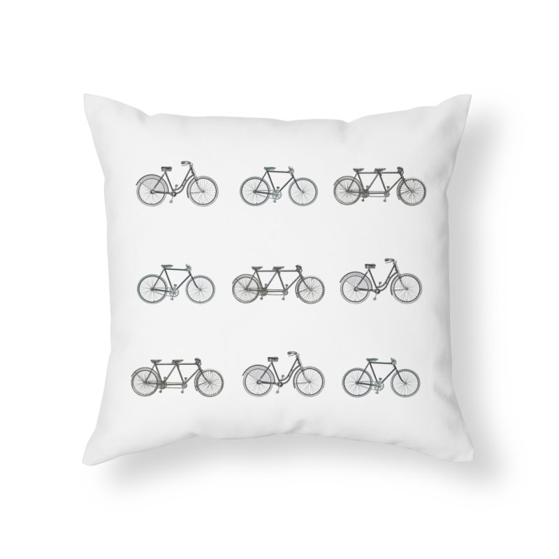 Critical Mass Home Throw Pillow by Mitchell Black's Artist Shop