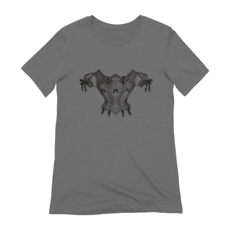 Roxanne Women's Extra Soft T-Shirt by Mitchell Black's Artist Shop