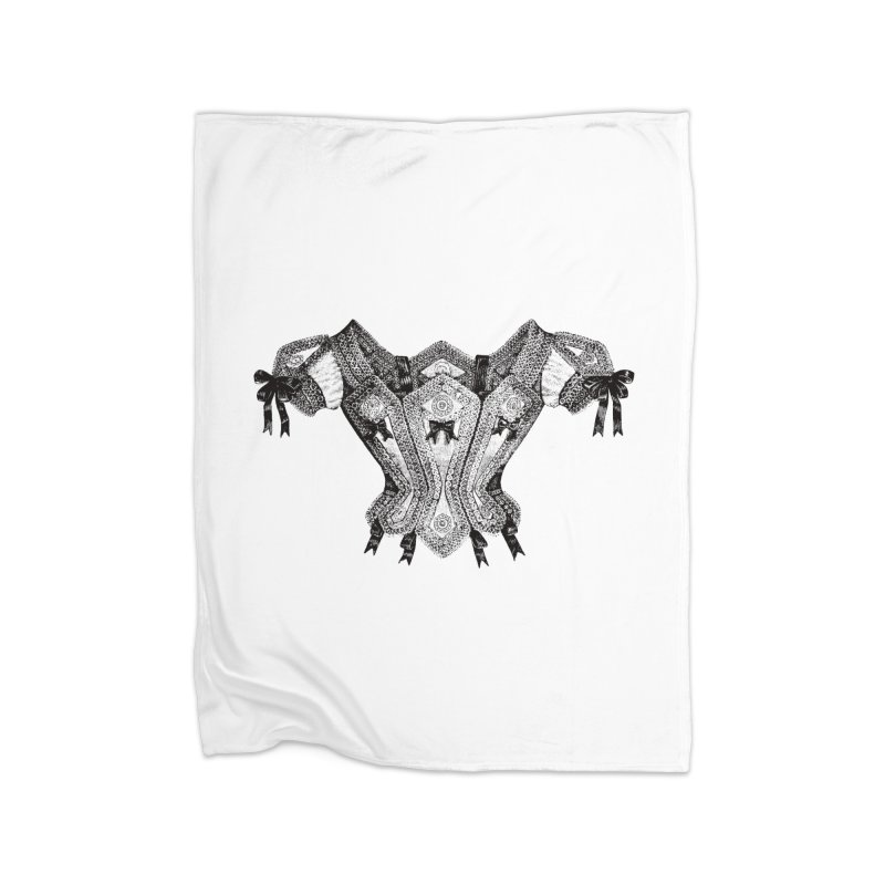 Roxanne Home Fleece Blanket Blanket by Mitchell Black's Artist Shop