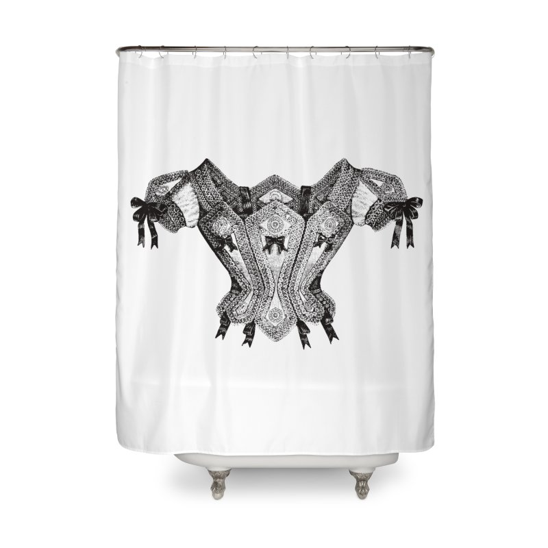 Roxanne Home Shower Curtain by Mitchell Black's Artist Shop