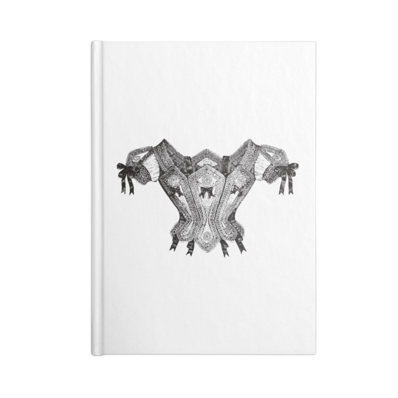 Roxanne Accessories Lined Journal Notebook by Mitchell Black's Artist Shop