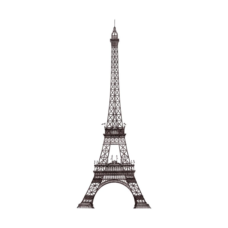 La Tour Eiffel by Mitchell Black's Artist Shop