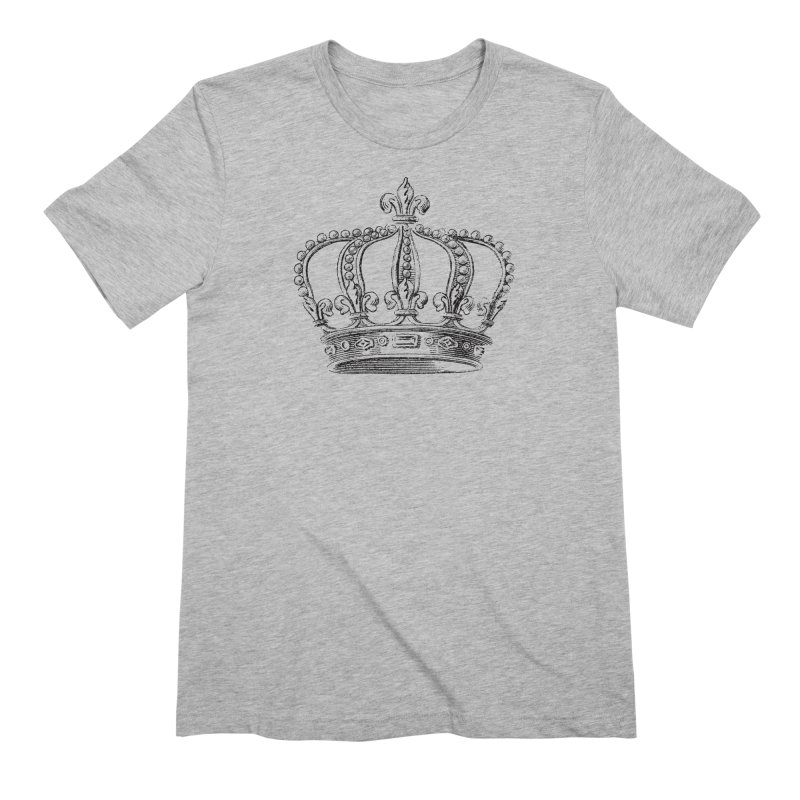Your Royal Highness Men's Extra Soft T-Shirt by Mitchell Black's Artist Shop