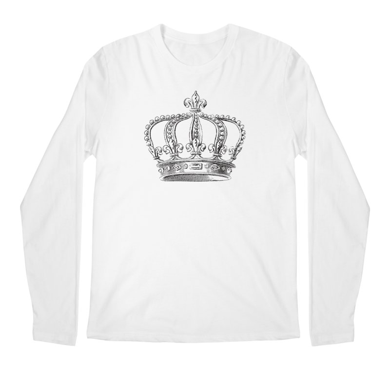 Your Royal Highness Men's Regular Longsleeve T-Shirt by Mitchell Black's Artist Shop