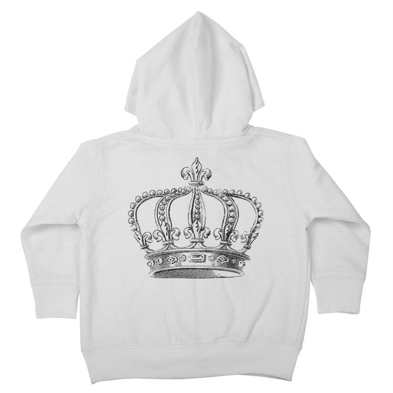 Your Royal Highness Kids Toddler Zip-Up Hoody by Mitchell Black's Artist Shop