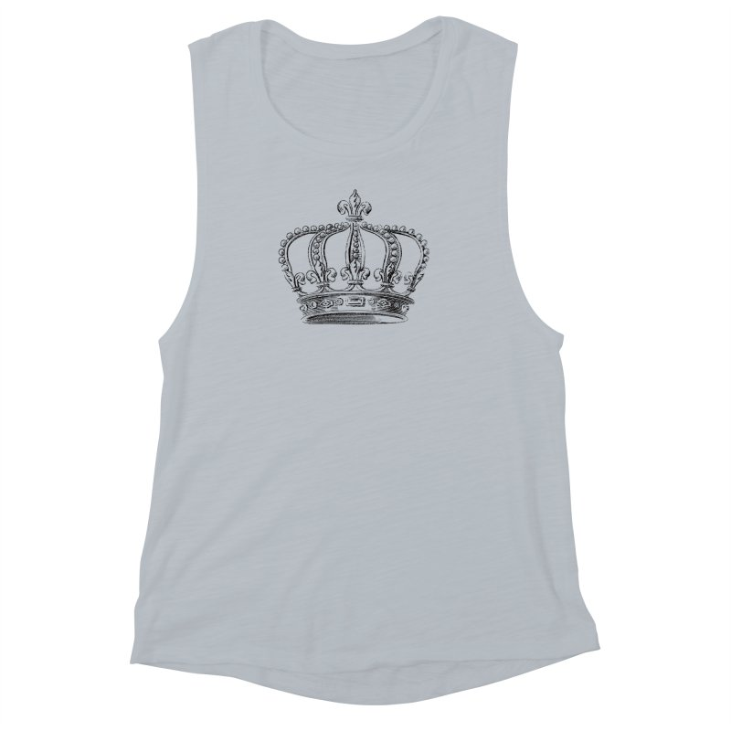Your Royal Highness Women's Muscle Tank by Mitchell Black's Artist Shop