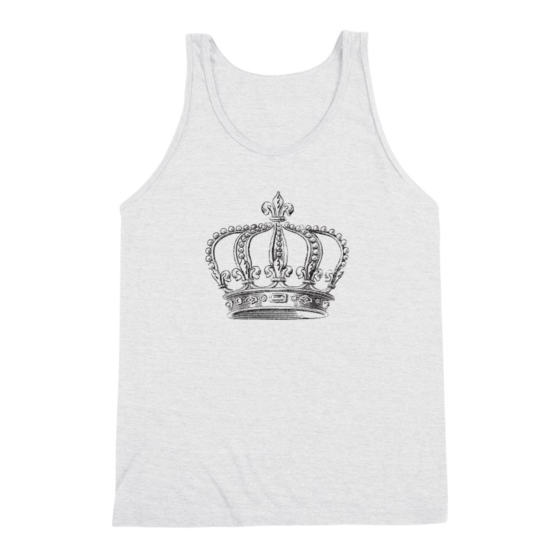Your Royal Highness Men's Triblend Tank by Mitchell Black's Artist Shop