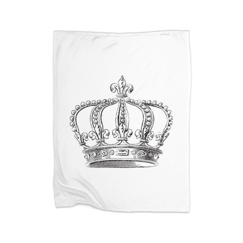 Your Royal Highness Home Fleece Blanket Blanket by Mitchell Black's Artist Shop