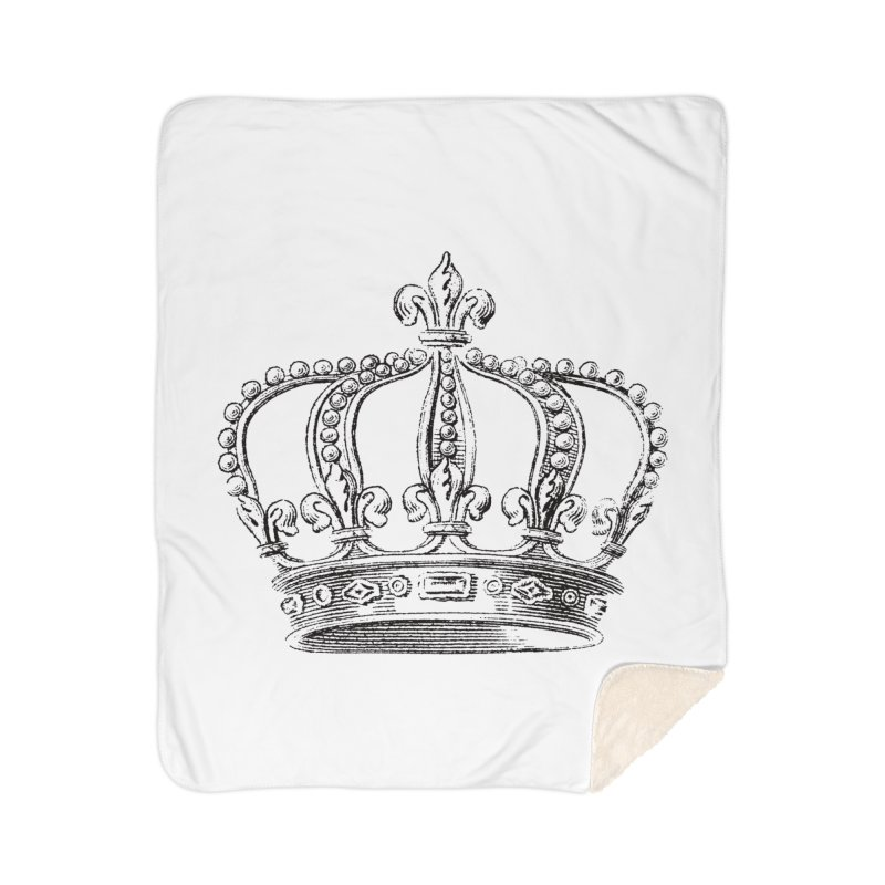 Your Royal Highness Home Sherpa Blanket Blanket by Mitchell Black's Artist Shop