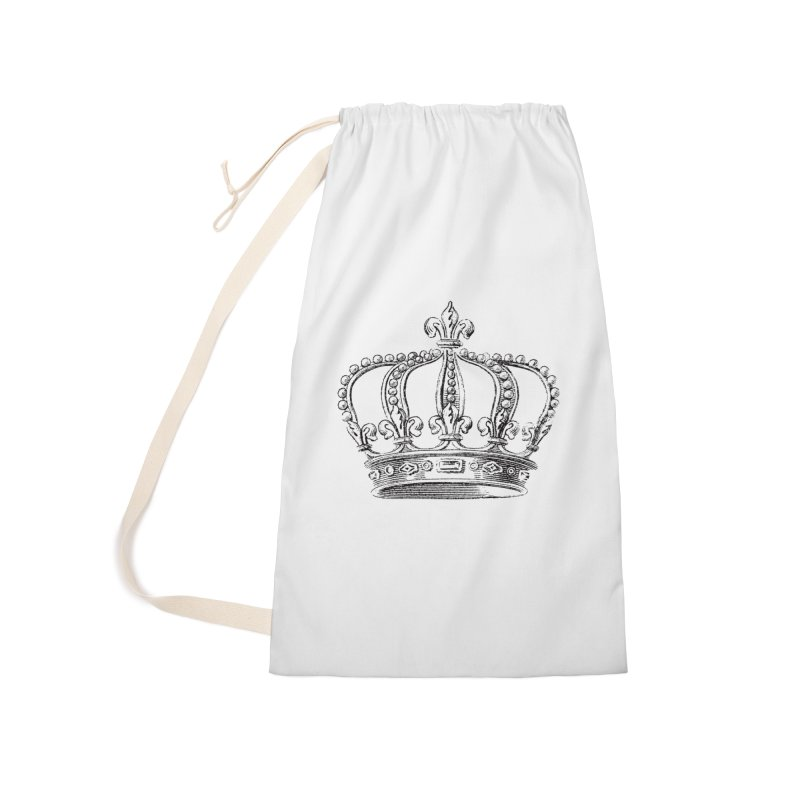 Your Royal Highness Accessories Laundry Bag Bag by Mitchell Black's Artist Shop
