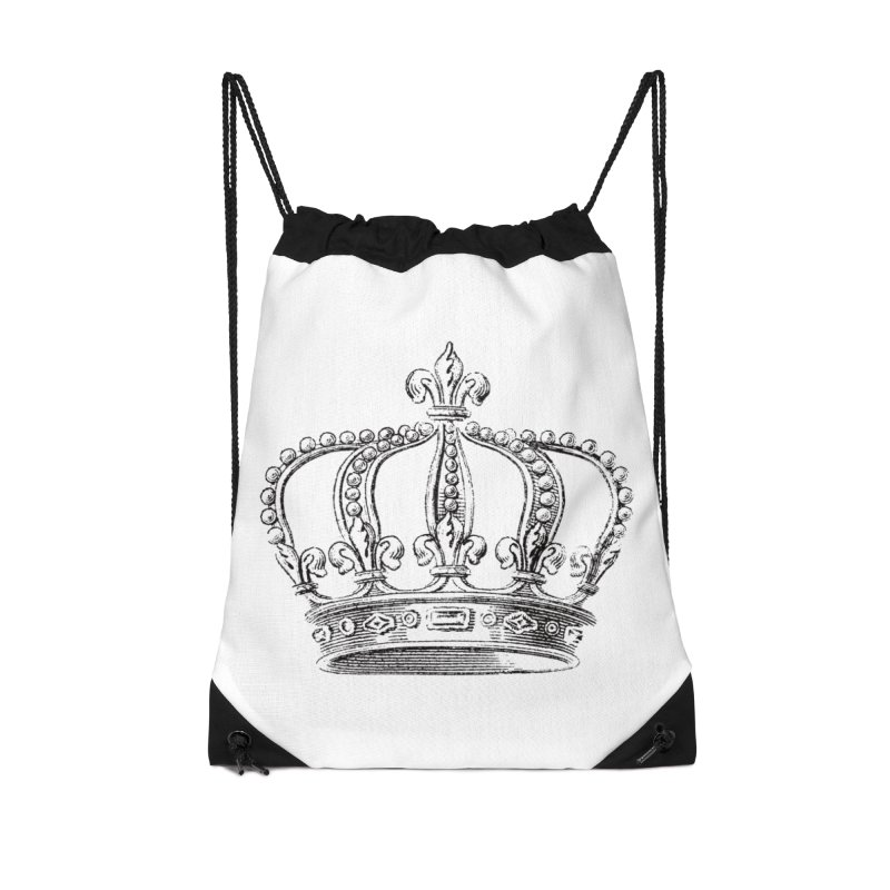 Your Royal Highness Accessories Drawstring Bag Bag by Mitchell Black's Artist Shop